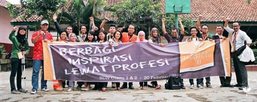 Terus semangat dalam bersinergi, Demi Indonesia yang lebih baik! Yey!
