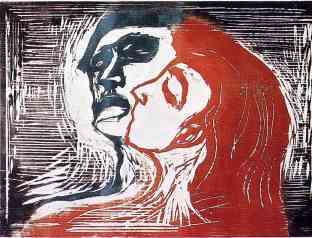 Man and Woman (Edvard Munch) - diambil dari www.wikipaintings.org